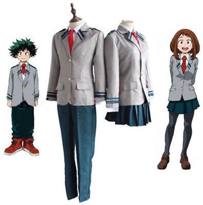 My Boku No Hero Academia Todoroki Shouto Costume Cosplay Uniforms School Suit (Costume Hero)