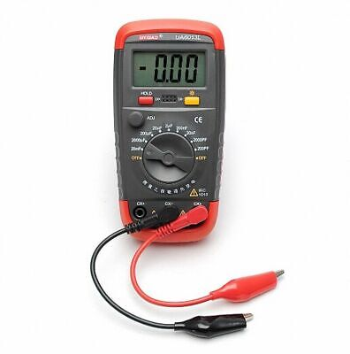 High Precision Digital Lcd Handheld Multimeter Capacitance Meter Tester Br