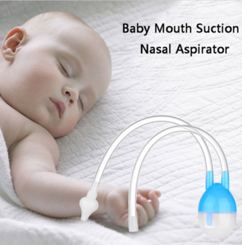 Baby Safety Silicone Nose Cleaner Vacuum Suction Nasal Aspirator Bodyguard