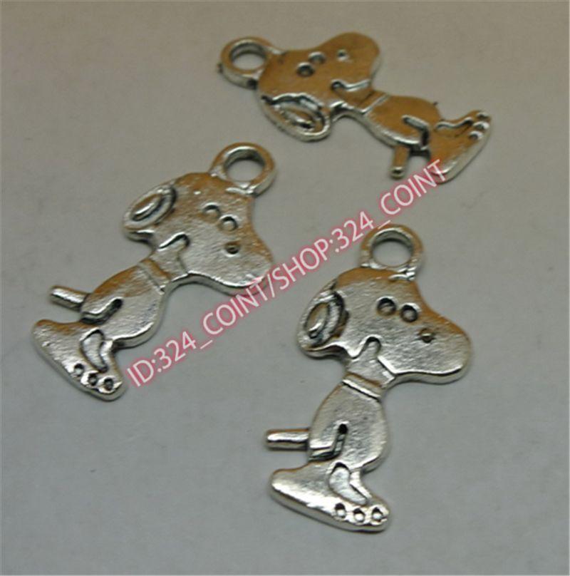 P1197 10pc Tibetan Silver snake Charm Beads Pendant accessories wholesale