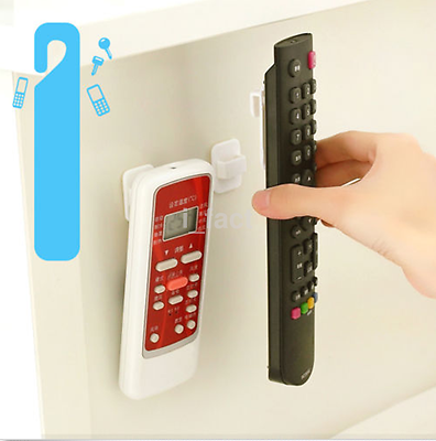 Pocket TV Air Conditioner Remote Control Organizer Storage Stand Holder Hook US