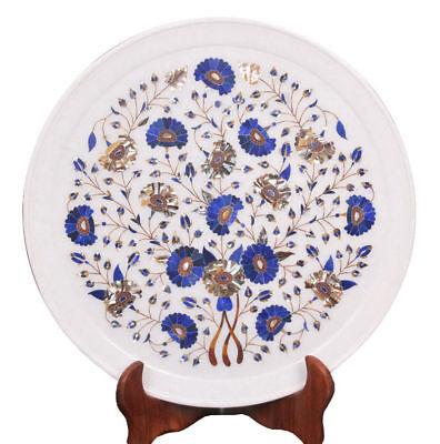 Декоративные тарелки Marble Plate Inlay Pietra