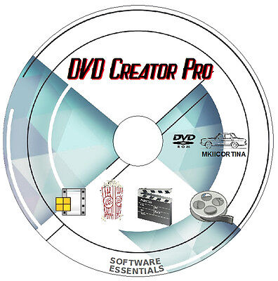 DVD Creator Pro - Convert Any Video to DVD  PC software DVD + FREEBIES! Any Dvd Video Converter