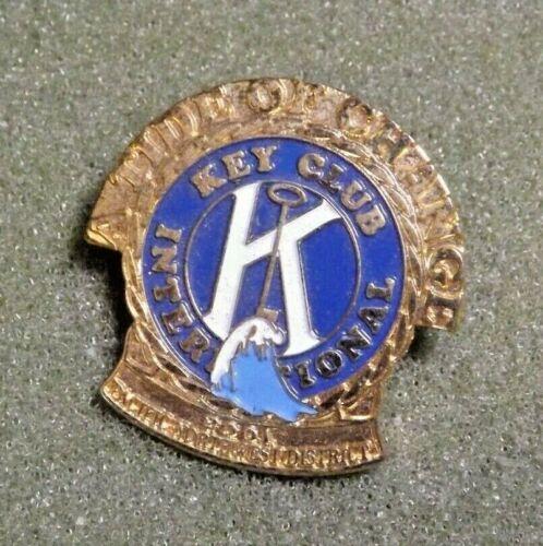 2001 Key Club International Pacific Northwest District Kiwanis Lapel Pin Tide of