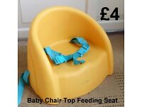 Baby Chair-Top Feeding Seat