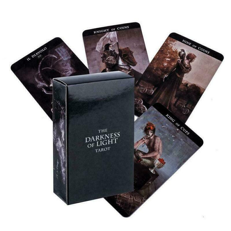 The darkness of light tarot Deck Cards Divination Prophet Cards Gift Board Game