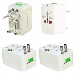 Adaptateur secteur universel prise electrique voyage uk usa france europe ebay - Prise electrique japon ...