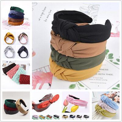 Girls Hair Accessories (Fashion Bow Knot Hair band Women Hoop Simple Sweet Girl Hair Headband)