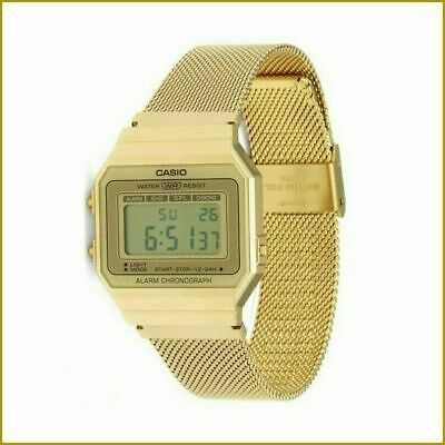 CASIO Chronograph Collection Watch A700WEMG-9AEF in Gold Colour 1 YEAR Warranty