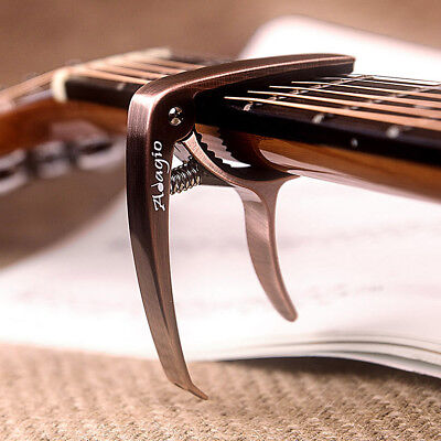 CAPO – For Acoustic, electric and classical guitars + banjo, bass BRN