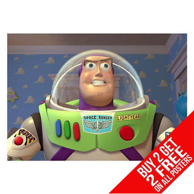 TOY STORY BUZZ LIGHTYEAR POSTER ART PRINT A4 A3 - BUY 2 GET ANY 2 - Buzz Lightyear Buy