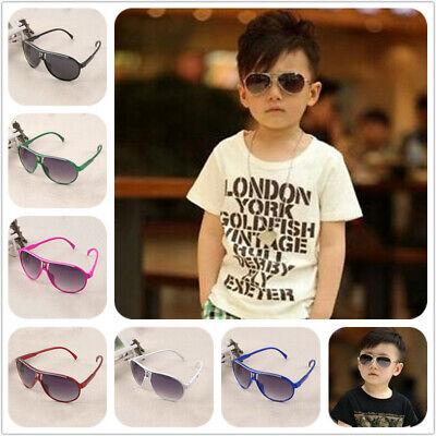 Style Stylish Child Kids Boys Girl Aviator UV400 Sunglasses Shades Baby Goggles](Baby Aviators)