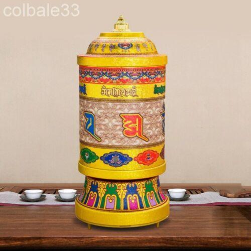 "21cm 8.3"" electric Prayer wheel copper Tibetan Buddhism Praying Wheel"