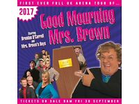 Mrs Browns Boys Tickets x3