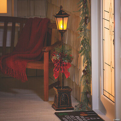 """46"""" Light-Up Christmas Lamp Post Outdoor Indoor Holiday Decorations BRAND NEW"""