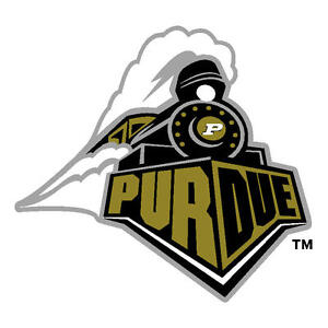 Purdue University Boilermakers Large Cornhole Decals / Set of 2