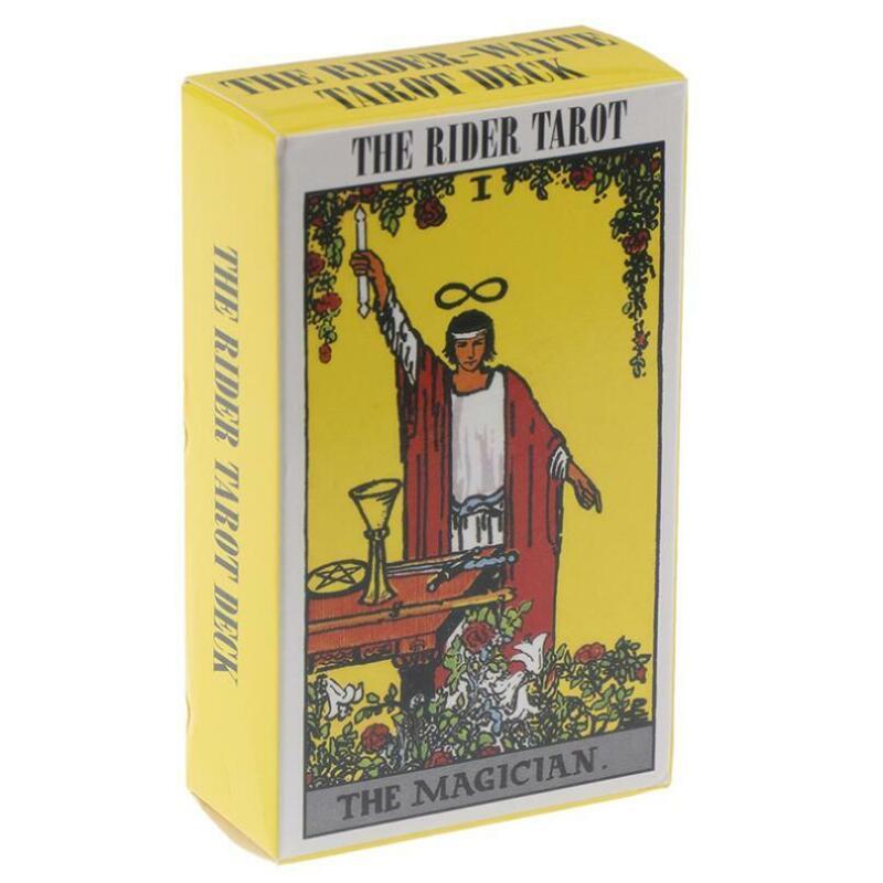 The Rider Tarot Deck Cards Arthur Edward Waite Pamela Colman Smith Tarot Gift