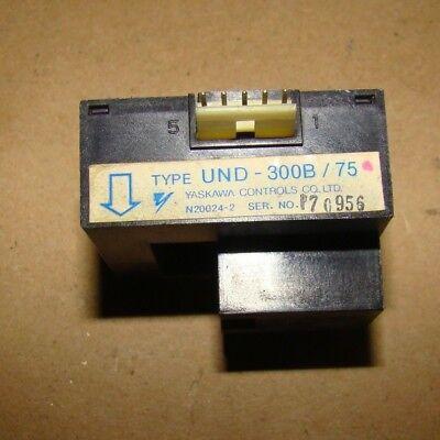 Yaskawa Und-300b75 Current Transformer Used