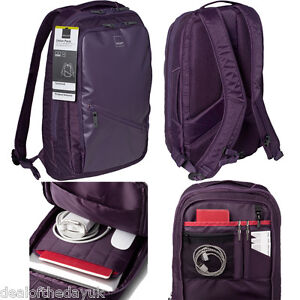Acme Union 15.6 Inch Laptop Backpack Bag Padded Mens Ladies Dell Purple 15 16