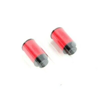 Lot Of 2 Red Micro-well Ink Roller For Monarch 1130113111351136
