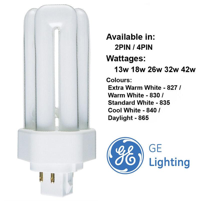 10 Pack Sylvania LYNX-TE 32W 4P 840 GX24Q-3 4000k 4 Pin CFL PL Bulbs Lamps Tube