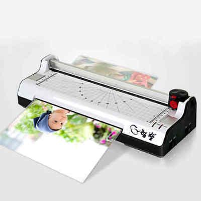 220v A4 Photo Film Document Thermal Hotcold Laminator Laminating Machine