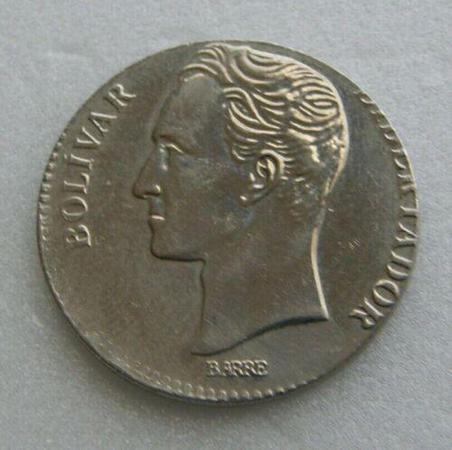 Venezuela Coin 2 Bolivares ERROR Bs 1989 Steel - Nickel 27mm