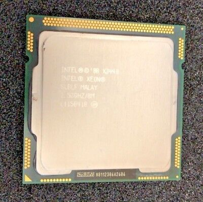 Intel Xeon X3440 SLBLF 2.53GHz Quad Quintessence LGA 1156 CPU Processor