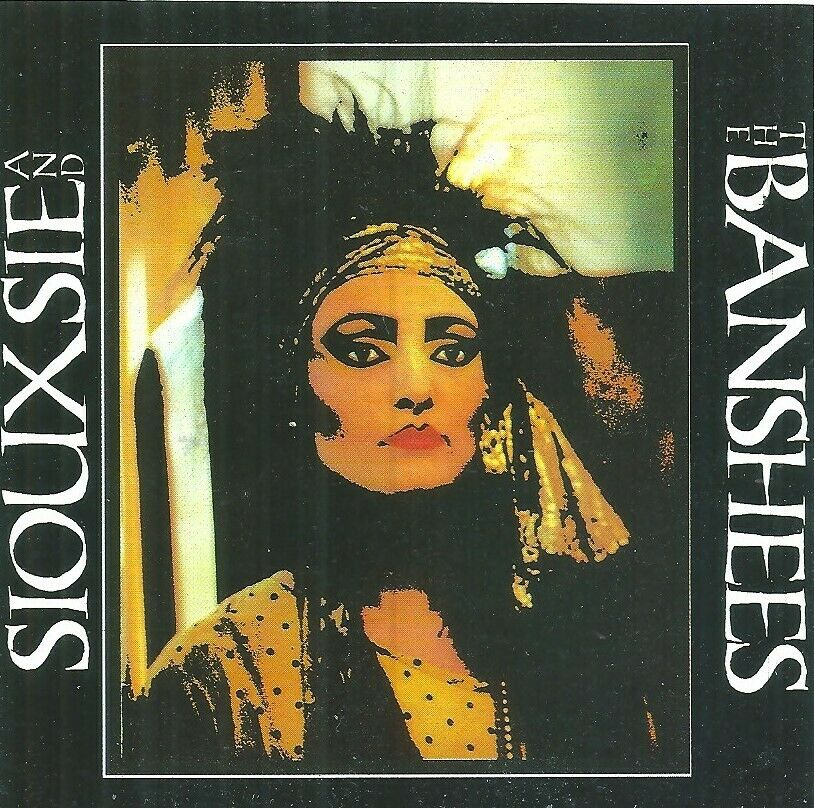 Siouxsie & the Banshess - Rare  Image Original 1980's Sticker - Mint