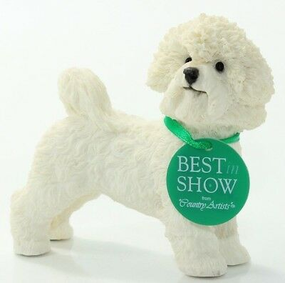 """Country Artists-Best in Show """"Bichon Frise* No: 03956-rare"""
