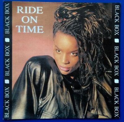 "Black Box: Ride On Time Single 7"", 1989"