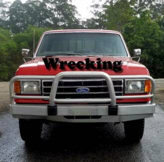 1991 Ford F150 Ute Red Wrecking. Parts  Available.