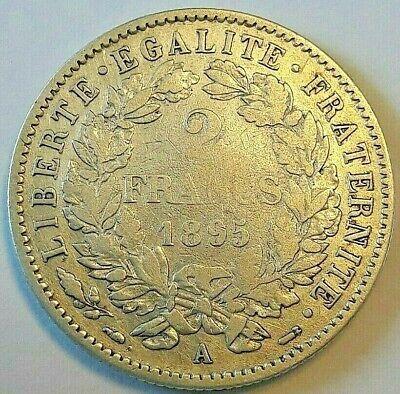 Monnaies, IIIème République, 2 Francs Cérès 1895 A, KM 817.1 #73430 France