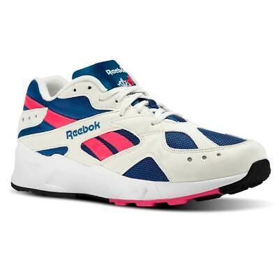 Reebok Classics Aztrek Chalk Royal Rose CN7068 Running Sneakers