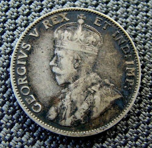 1911 Canada 25 Cents Silver