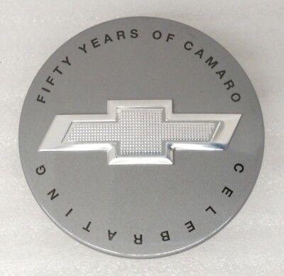 Two NOS GM Chevy Camaro Equinox Colorado Wheel Center Caps Bowtie Logo 9595010