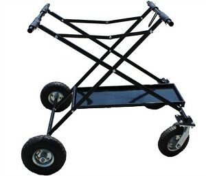 NEW-Rolling-Racing-Shifter-Go-Kart-Cart-GoKart-Scissor-Style-Stand-Collapsable