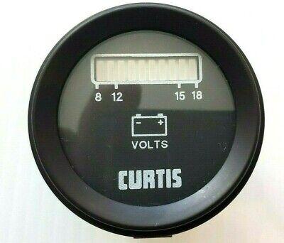 8v-18 Volt Used Curtis Battery Gauge Meter
