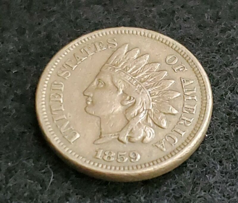 Nice XF 1859 Indian Head Cent.