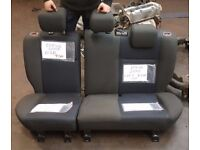 2006 FORD FOCUS REAR PASSENGER FOLDING SEATS SET COMPLETE BACK GOOD CONDITION