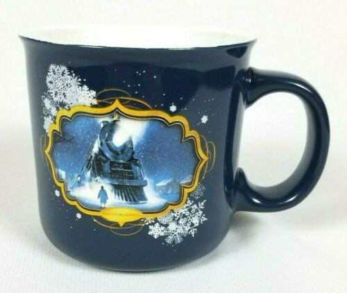 Polar Express Believe 20 Ounce Ceramic Coffee Tea Mug Cup