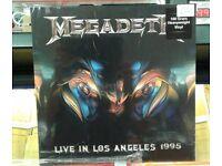 Brand new n sealed Megadeth – Live In Los Angeles 1995, released on Dol in 2015 Heavy Metal Thrash