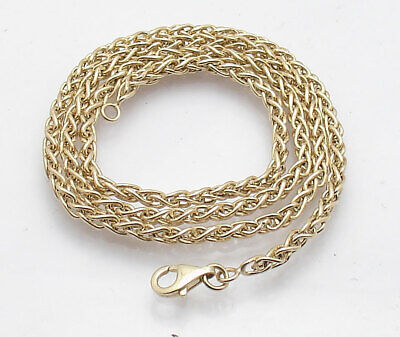Chain Necklace Circular Clasp - 18