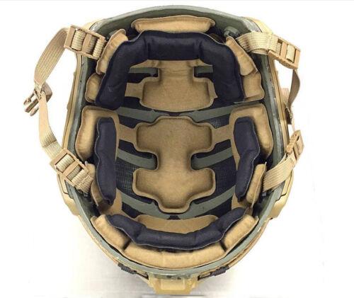 DLP Tactical ImpaX Extreme Pad Set For MICH / OPS-Core / ACH / MTEK Helmet