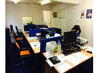 Fantastic opportunity with attached managers office or a working space that will hold 8-10 staff.