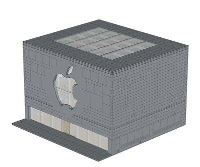 Computer Store Instructions For Lego Shop Apple Modular Building Advance Model