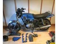 Two 1980 GSX 250cc projects and parts