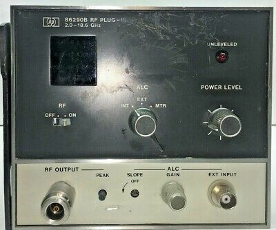 Agilent Hp 86290b Rf Plug In 2.0 - 18.6 Ghz