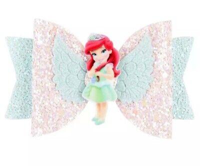 Disney Princess Hair (New Disney Princess Hair Bow Shiny Little Mermaid Princess Ariel Sparkle)