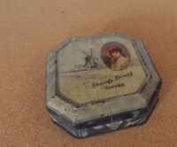 Vintage Horner Toffee Dainty Dinah Tin Windmill Design 11cm Square - tins - ebay.co.uk